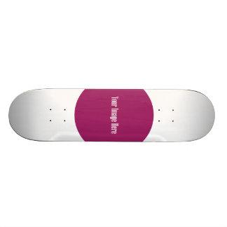 Editable Template 18.1 Cm Old School Skateboard Deck