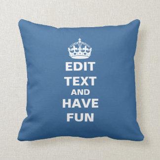 Editable Text Cushion
