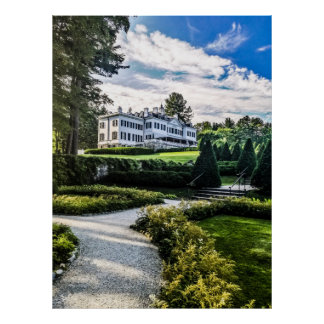 Edith Wharton Mansion Poster