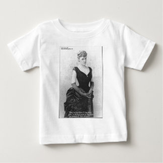 """Edith Wharton """"Spreading Light"""" Quote Gifts & Card Baby T-Shirt"""