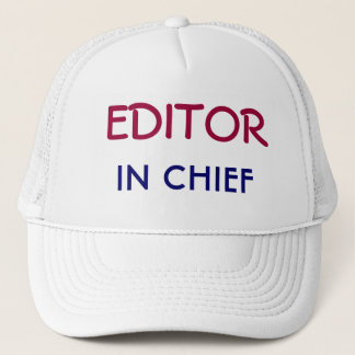 Editor in Chief Trucker Hat