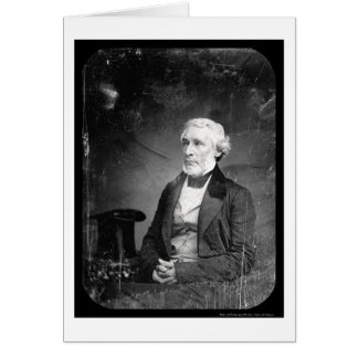 Editor James Bennett Daguerreotype 1851 Card