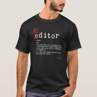 Editor T-Shirt