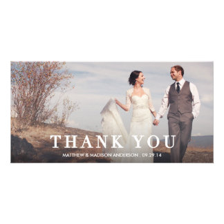 Editorial | Wedding Thank You Photo Card