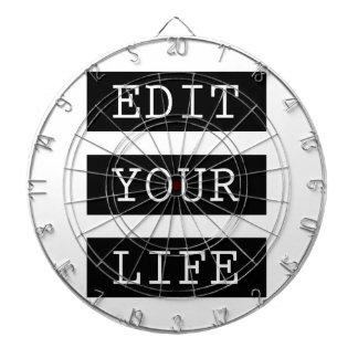 EditYourLife Dartboard