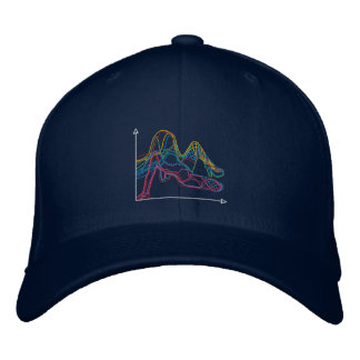 EDIWM Dark Color Graphic Hat Baseball Cap