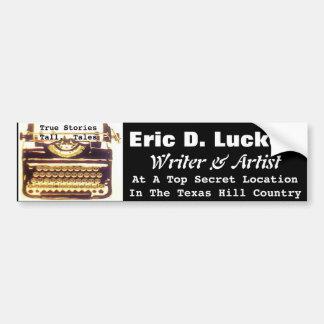 EDL Typewriter Bumper Sticker EDL062515007