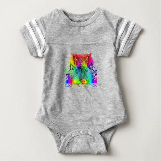 EDM Husky Baby Bodysuit