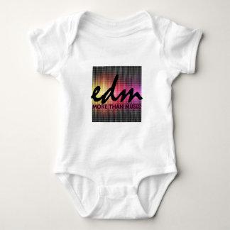 EDM More than Music pixel Baby Bodysuit
