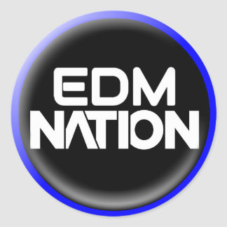 EDM Nation Sticker 2017