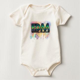 EDM Pixel Baby Bodysuit