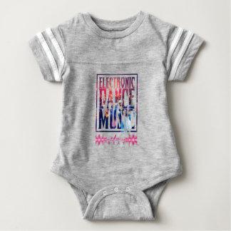 EDM Whole Text Party Baby Bodysuit