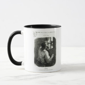 Edmond Dantes imprisoned in the Chateau d'If Mug