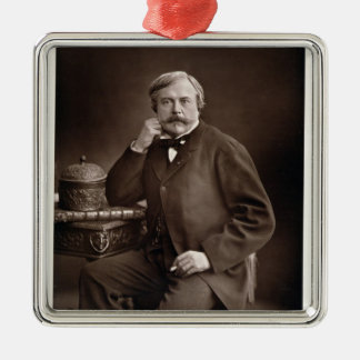 Edmond de Goncourt (1822-96) from 'Galerie Contemp Metal Ornament