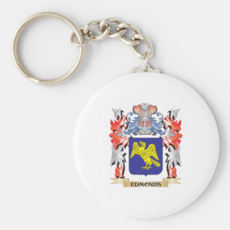 Edmonds Coat of Arms - Family Crest Key Ring