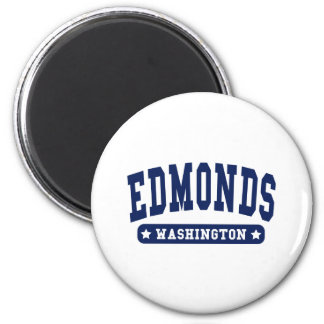 Edmonds Washington College Style tee shirts Fridge Magnet