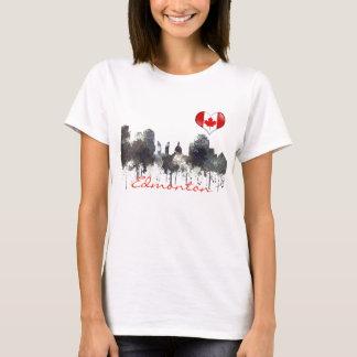 EDMONTON, ALBERTA, CANADA SKYLINE - T-Shirt
