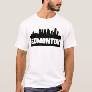 Edmonton Alberta Skyline T-Shirt