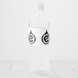 Edmonton Bottle Water Bottle Label