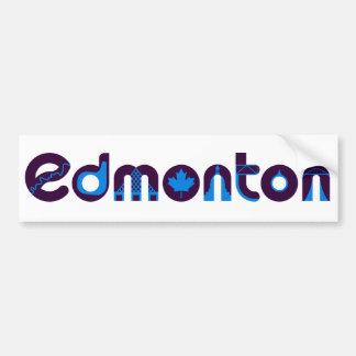 Edmonton Bumper Sticker