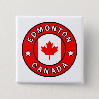 Edmonton Canada 15 Cm Square Badge
