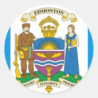 Edmonton, Canada Classic Round Sticker