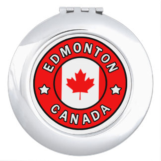 Edmonton Canada Compact Mirror