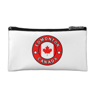 Edmonton Canada Cosmetic Bag