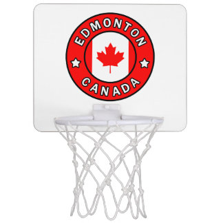 Edmonton Canada Mini Basketball Hoop