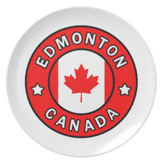 Edmonton Canada Plate