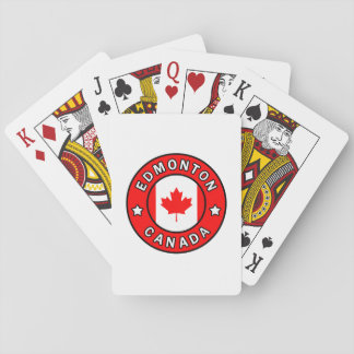 Edmonton Canada Playing Cards