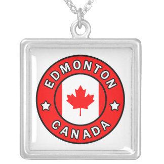 Edmonton Canada Silver Plated Necklace