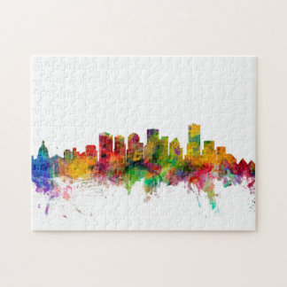 Edmonton Canada Skyline Jigsaw Puzzle