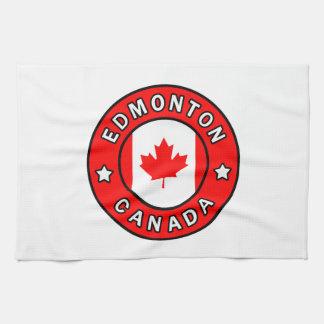 Edmonton Canada Tea Towel