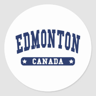 Edmonton Classic Round Sticker