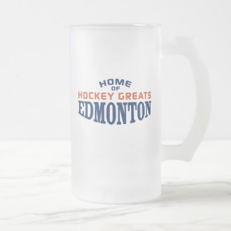 Edmonton Hockey Greats 16 oz Frosted Mug