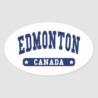 Edmonton Oval Sticker
