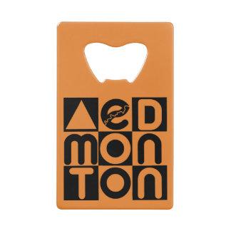 Edmonton Puzzle Credit Card Bottle Opener
