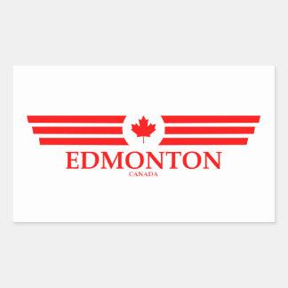 EDMONTON RECTANGULAR STICKER