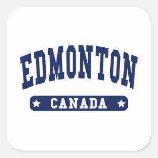 Edmonton Square Sticker