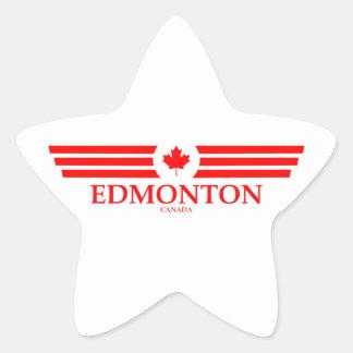 EDMONTON STAR STICKER