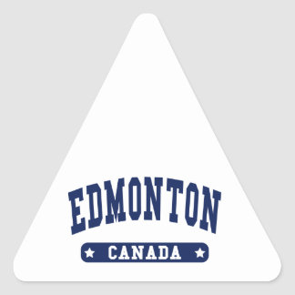 Edmonton Triangle Sticker