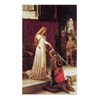 Edmund Blair Leighton: The Accolade Poster