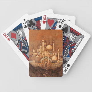 Edmund Dulac Arabian Nights Middle Eastern Palace Playing Cards