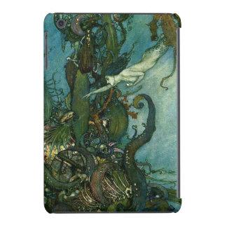 Edmund Dulac mermaid illustration iPad Mini Cover