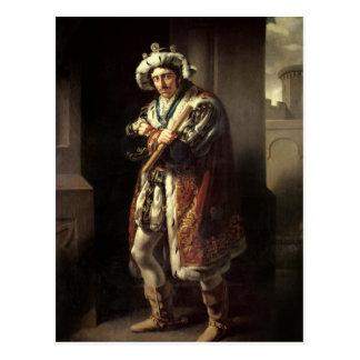Edmund Kean  as Richard III, 1814 Postcard