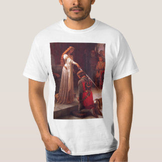 Edmund Leighton-The Accolade T-Shirt