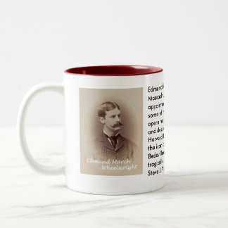 Edmund March Wheelwright mug