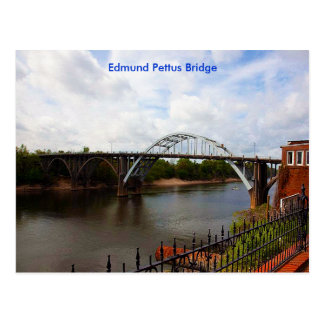 Edmund Pettus Bridge in Selma, Alabama Postcard