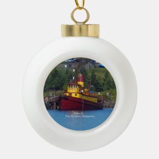 Edna G. ball or snowflake ornament